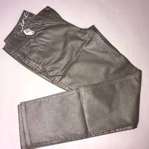 INC Metallic Jeans